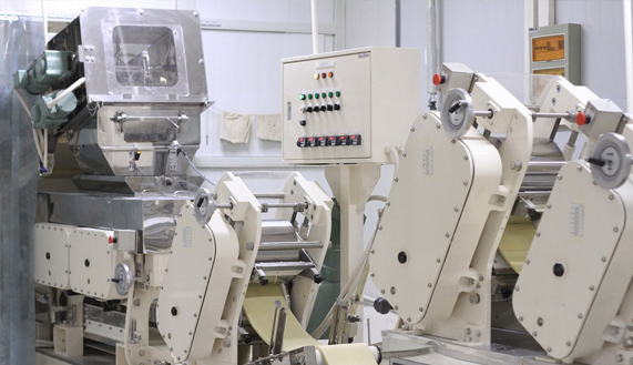 旺年食品厂区生产设备